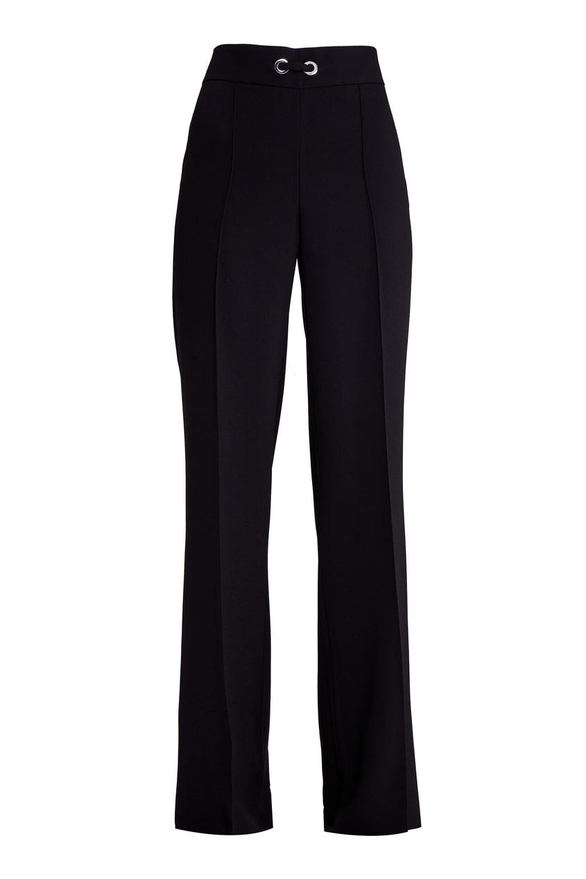 Adolfo Dominguez Широкие черные брюки прямые широкие женские зимние брюки