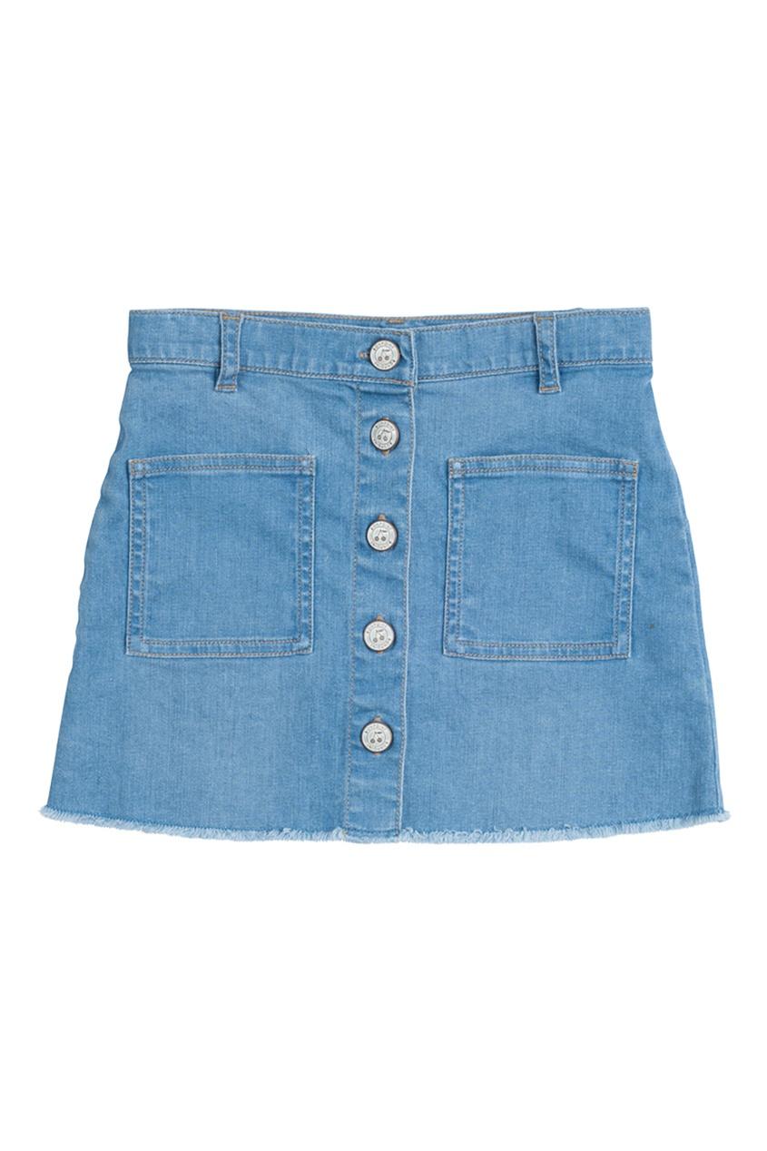 Bonpoint Джинсовая юбка GRETEL юбка джинсовая marks