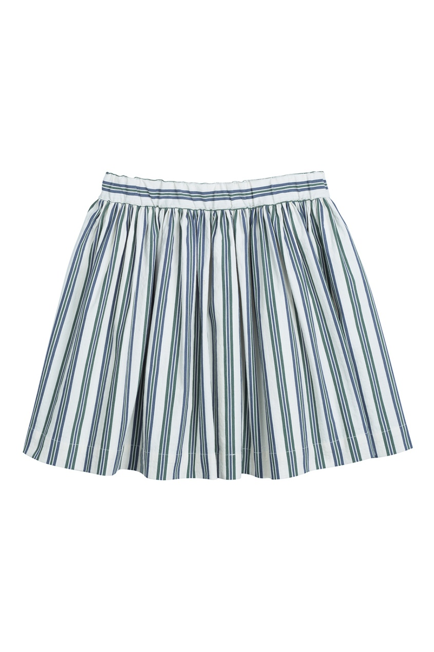 Bonpoint Хлопковая юбка в полоску SUZON