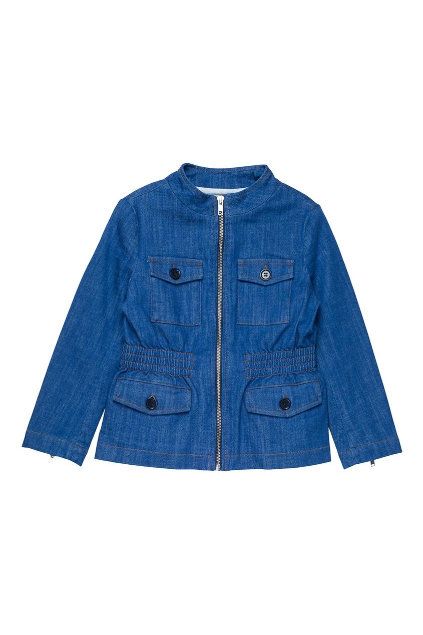 Bonpoint Приталенная джинсовая куртка GILL джинсовая куртка brums ут 00000971