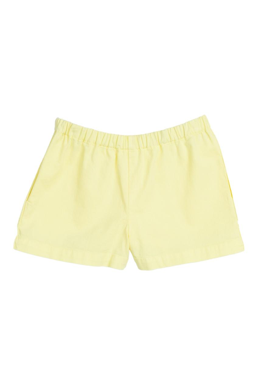 Джинсовые желтые шорты ENJOY