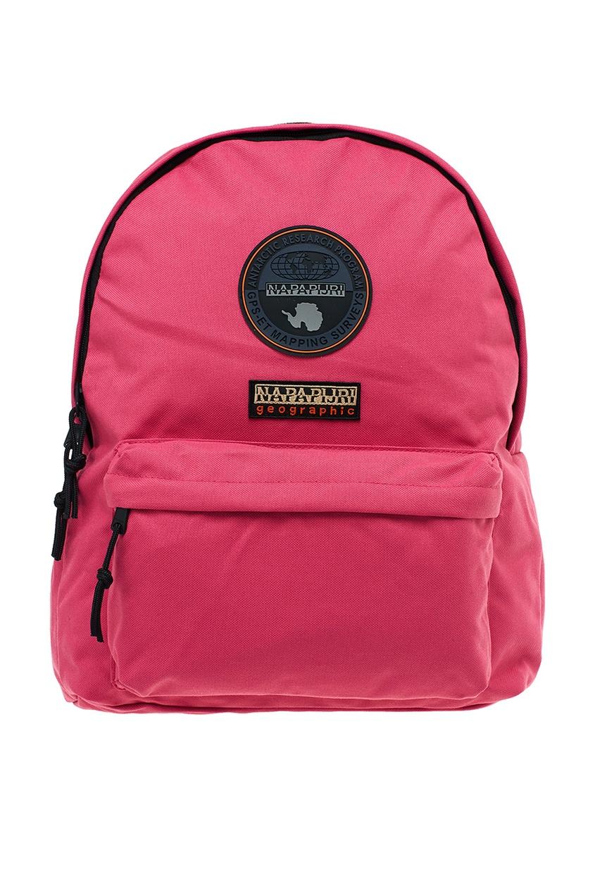 Розовый рюкзак из ткани