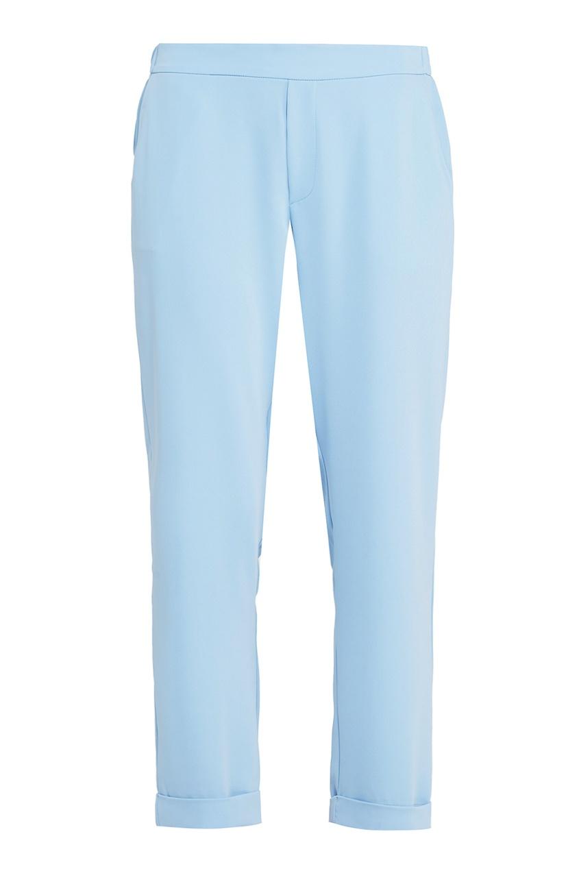 Голубые брюки с отворотами P.A.R.O.S.H.