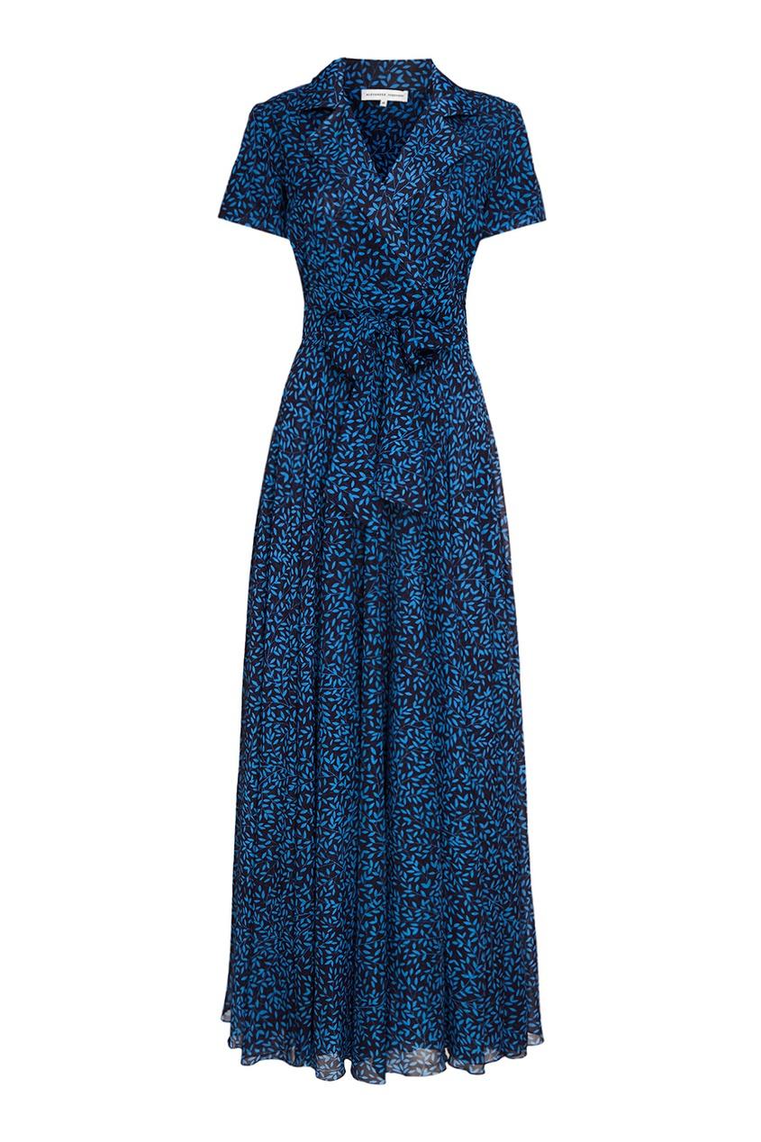 Alexander Terekhov Длинное платье-рубашка из шелка alexander terekhov длинное платье с принтом