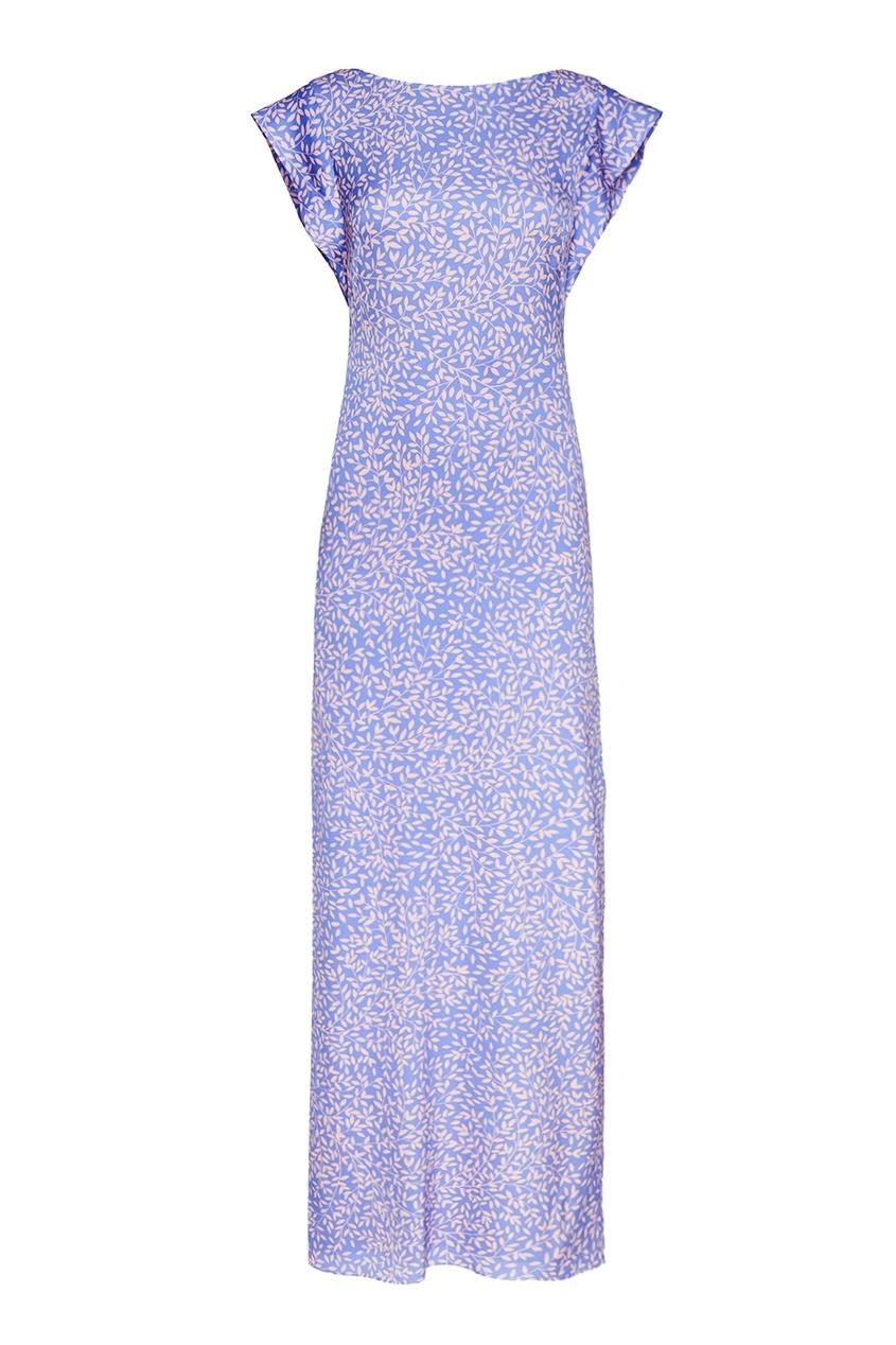 Alexander Terekhov Шелковое платье-макси с принтом alexander terekhov длинное платье с принтом