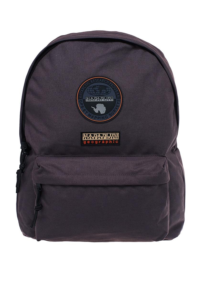 Napapijri Серый рюкзак с нашивками napapijri худи с эмблемой bochil