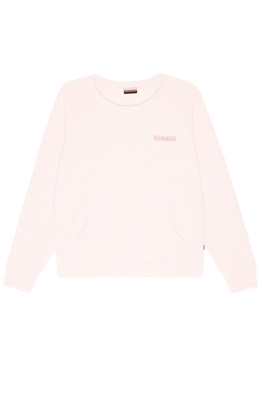Розовый хлопковый свитшот