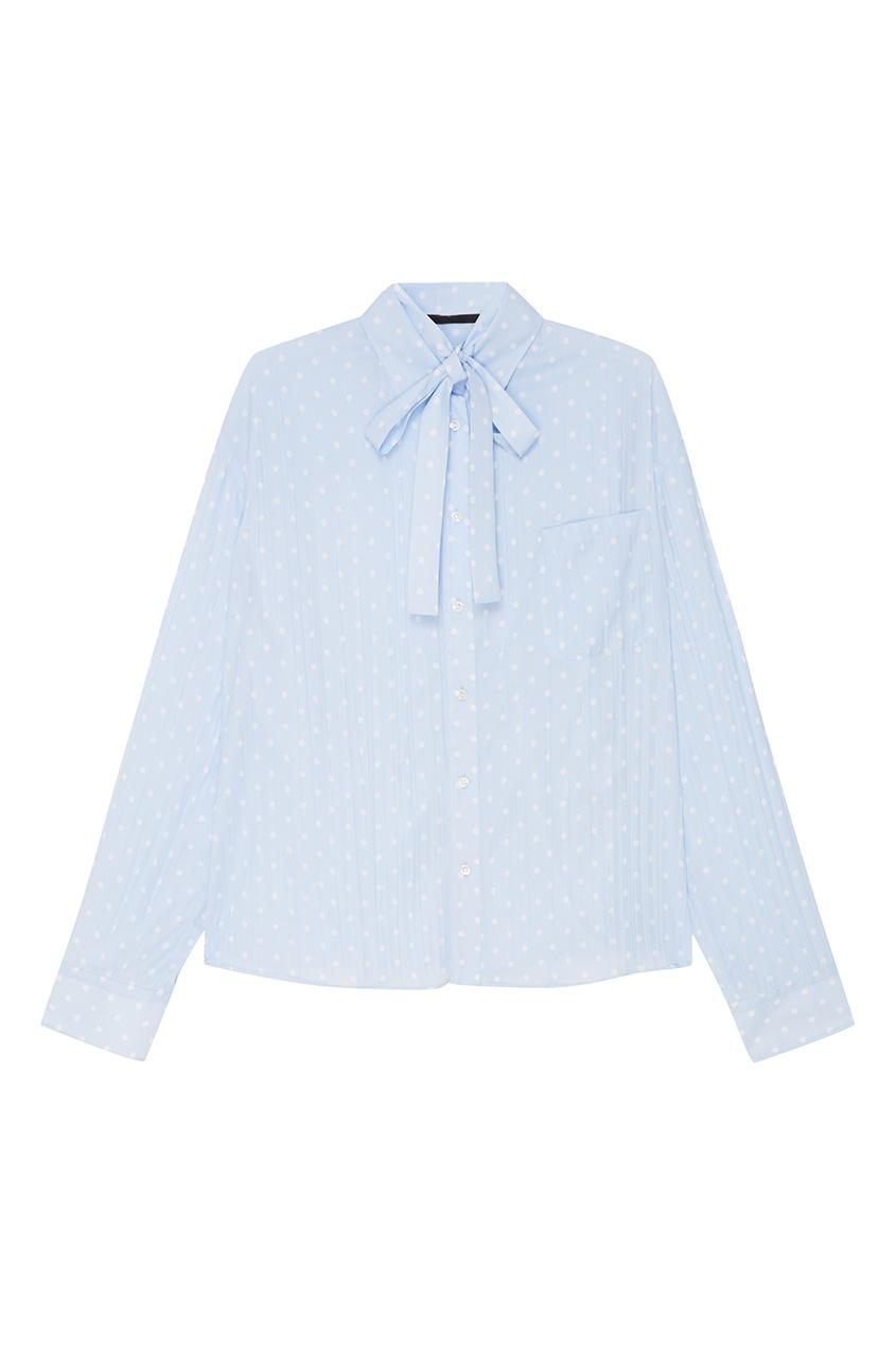 Haider Ackermann Плиссированная блузка в горох блузка pinetti блузка