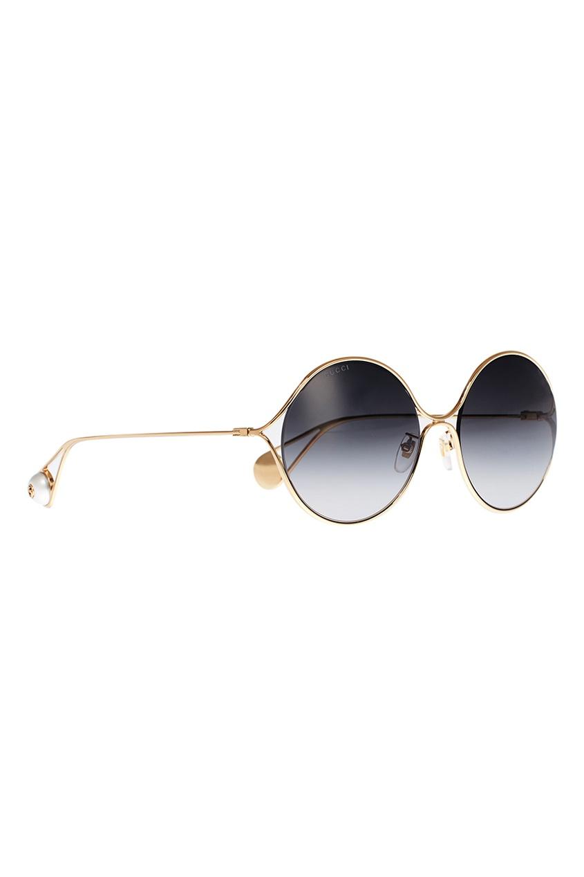 Круглые очки с градиентными линзами