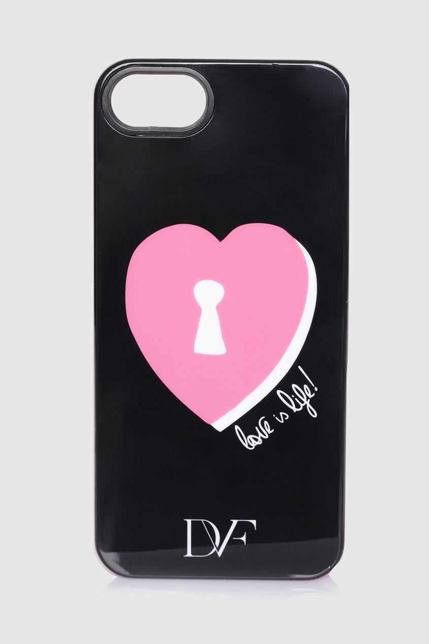 Чехол для iPhone 5/5S Lock Heart