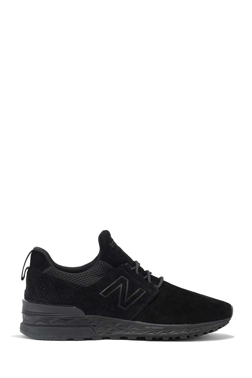 New Balance Черные замшевые кроссовки 574 купить new balance u420ukg в сургуте