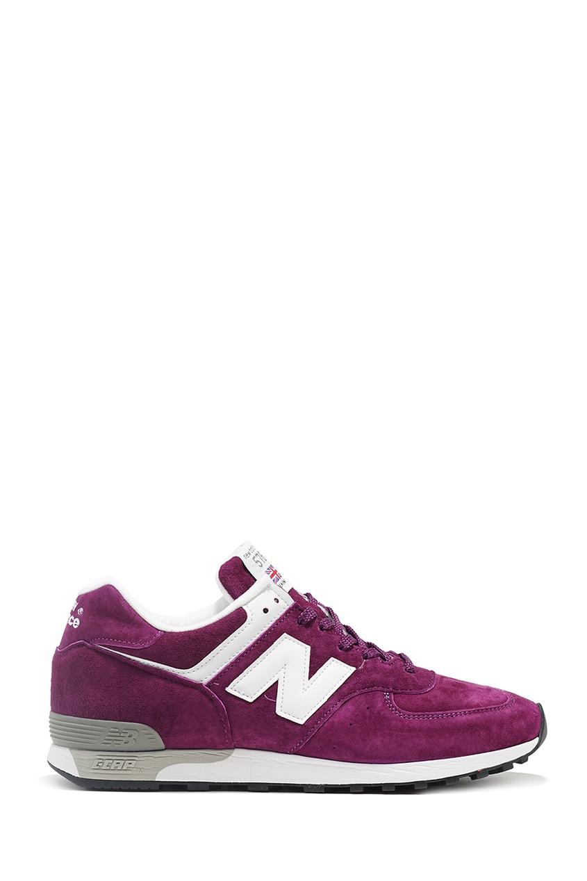 New Balance Фиолетовые замшевые кроссовки 576 купить new balance u420ukg в сургуте