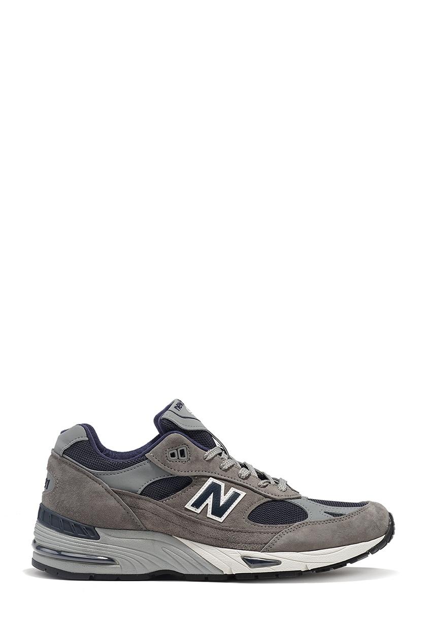 New Balance Серые замшевые кроссовки 991 купить new balance u420ukg в сургуте