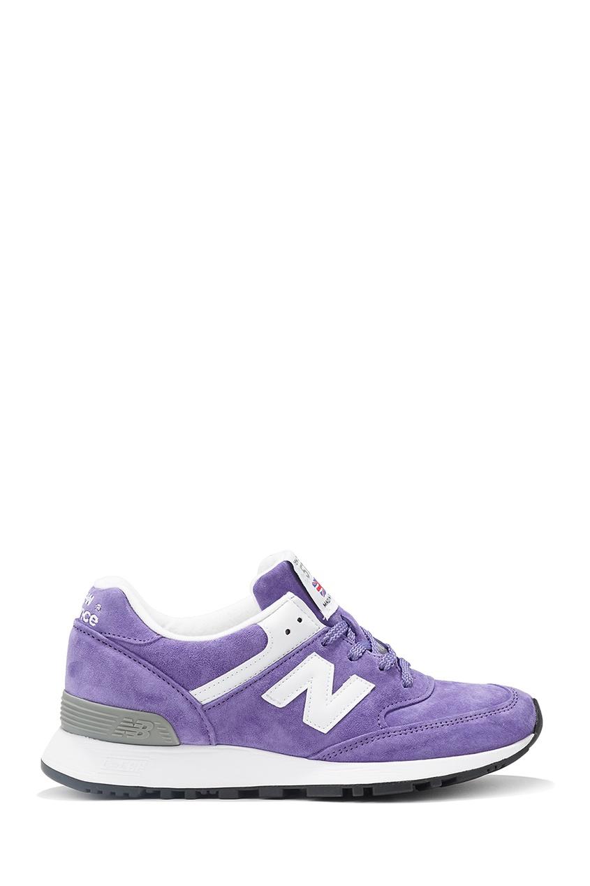 New Balance Замшевые фиолетовые кроссовки 576 купить new balance u420ukg в сургуте