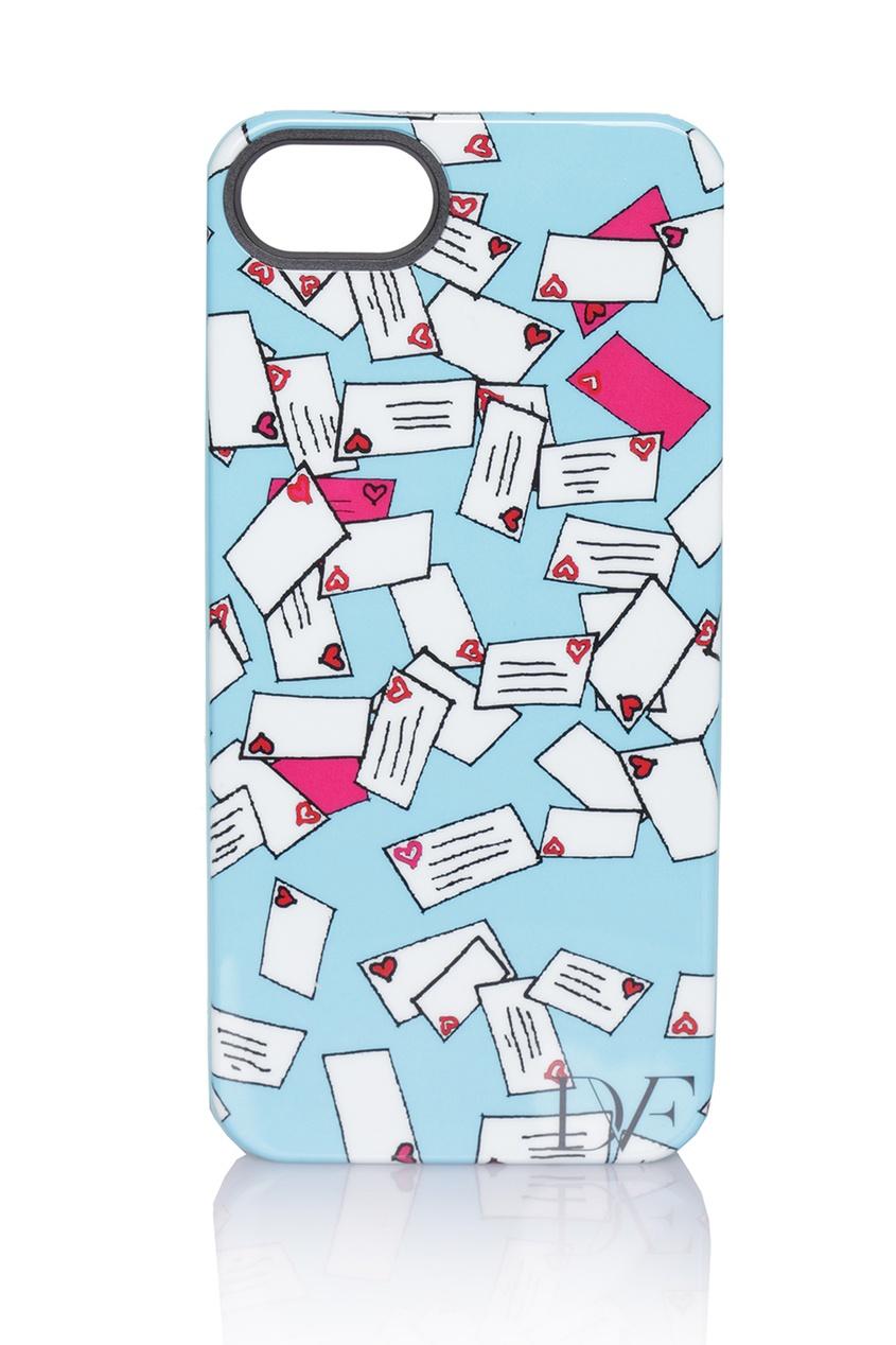 Чехол для iPhone 5/5S DvF Love Letters