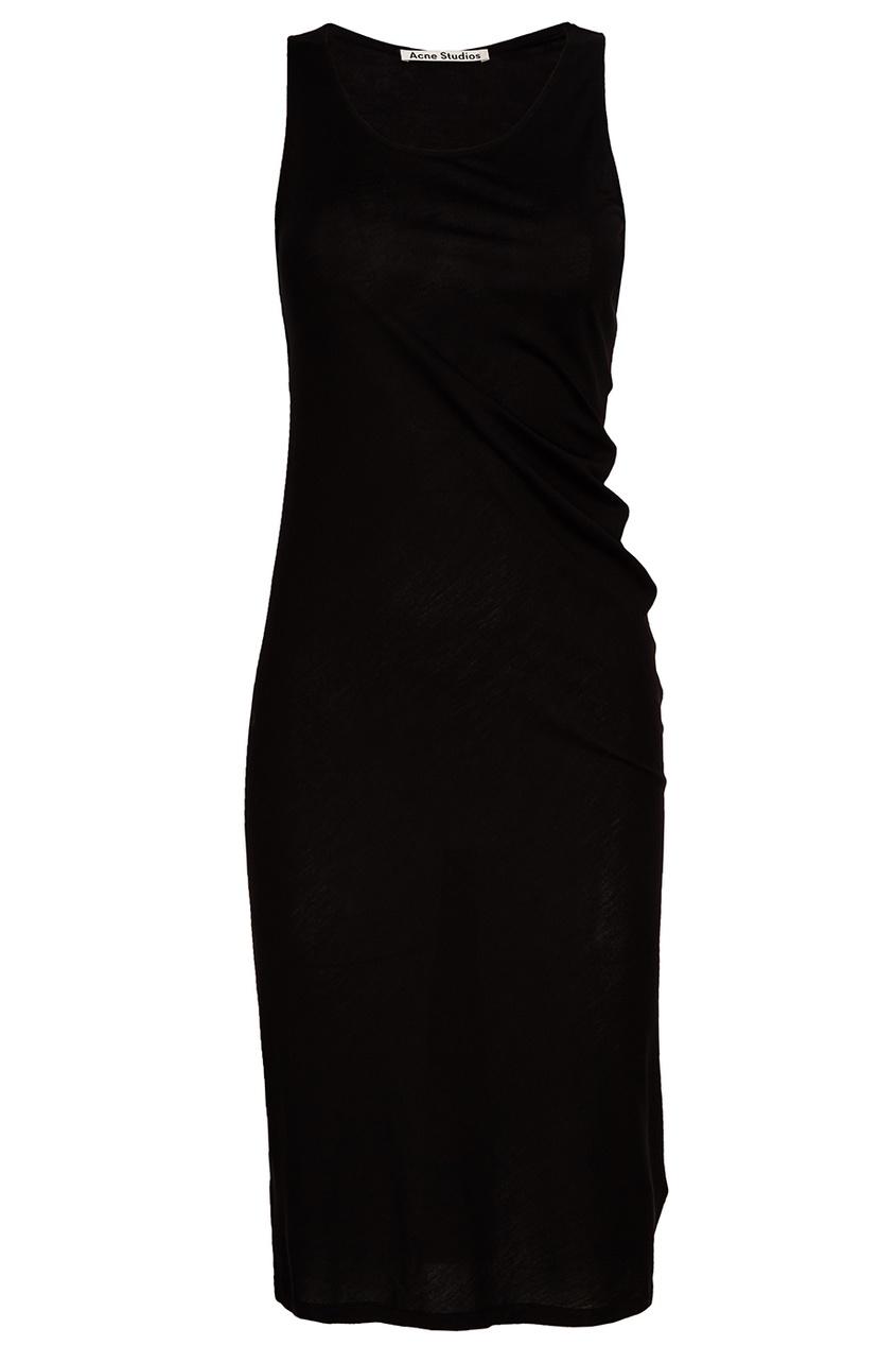 Черное платье-майка Trudela