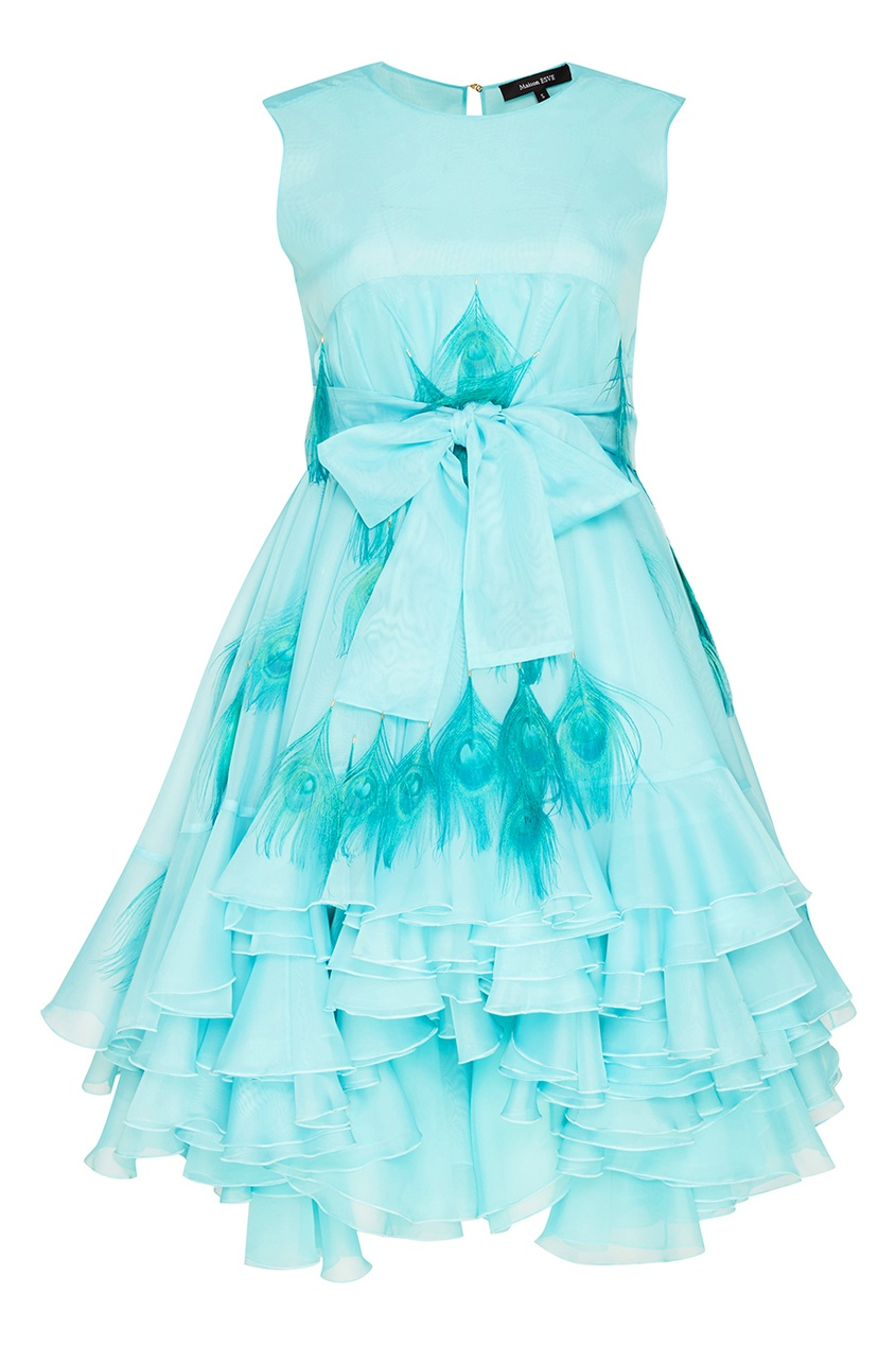 Esve Бирюзовое платье Мальвина esve платье с пайетками