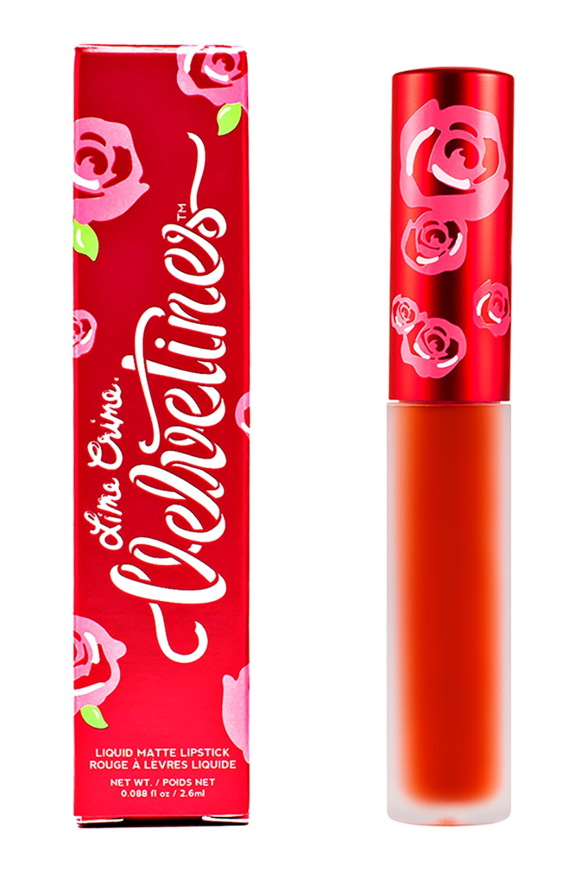 Lime Crime Матовая помада VELVETINES PUMPKIN 2,6 ml lime crime матовая помада velvetines wicked 2 6 ml