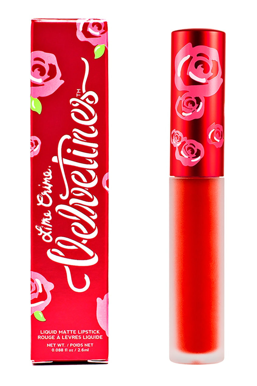 Lime Crime Матовая помада VELVETINES RED VELVET 2,6 ml lime crime матовая помада velvetines wicked 2 6 ml