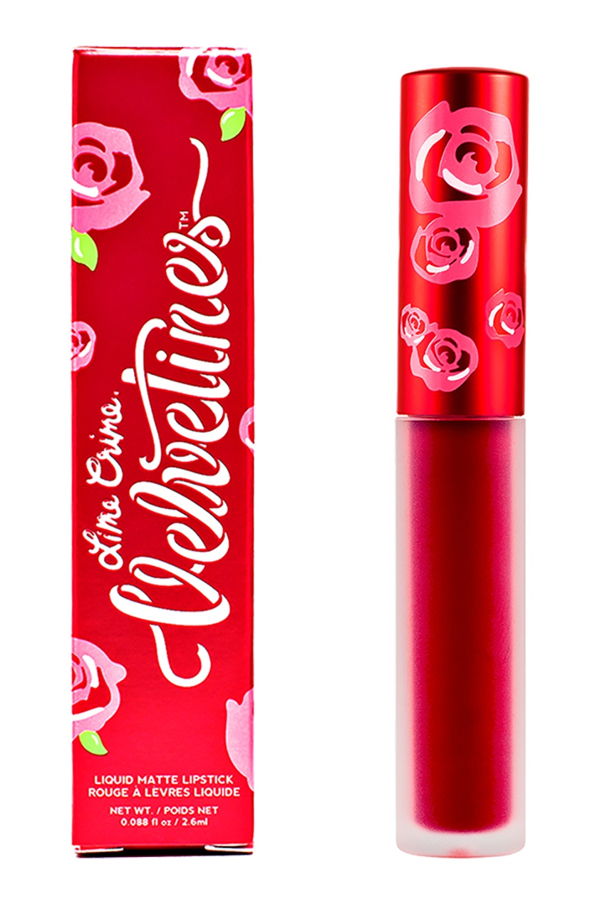 Lime Crime Матовая помада VELVETINES RED ROSE 2,6 ml lime crime матовая помада velvetines wicked 2 6 ml