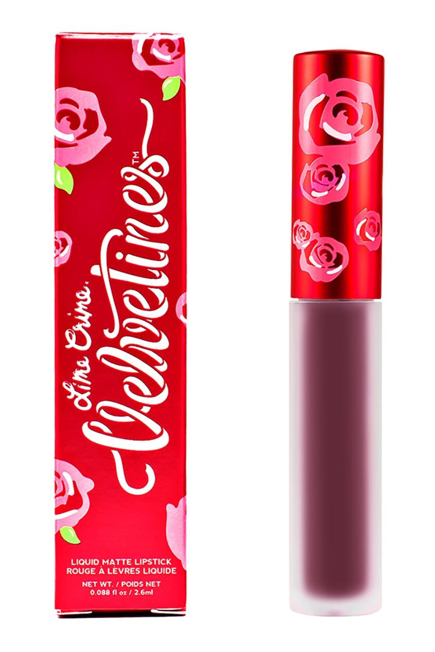 Lime Crime Матовая помада VELVETINES FETISH 2,6 ml lime crime матовая помада velvetines wicked 2 6 ml