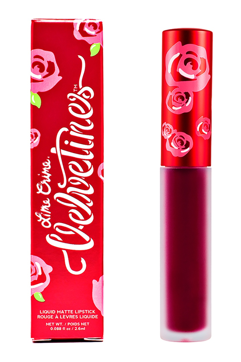 Lime Crime Матовая помада VELVETINES BEET IT 2,6 ml пуловер united colors of benetton united colors of benetton un012ewabyz6