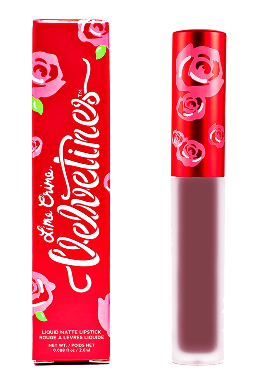 Lime Crime Матовая помада VELVETINES TEDDY BEAR 2,6 ml lime crime матовая помада velvetines wicked 2 6 ml