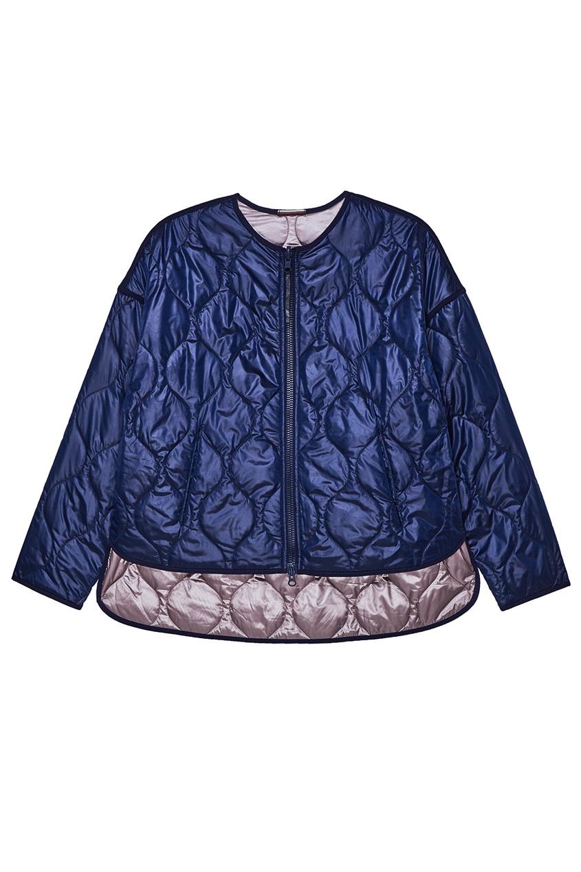NOVAYA Синяя двусторонняя куртка на молнии