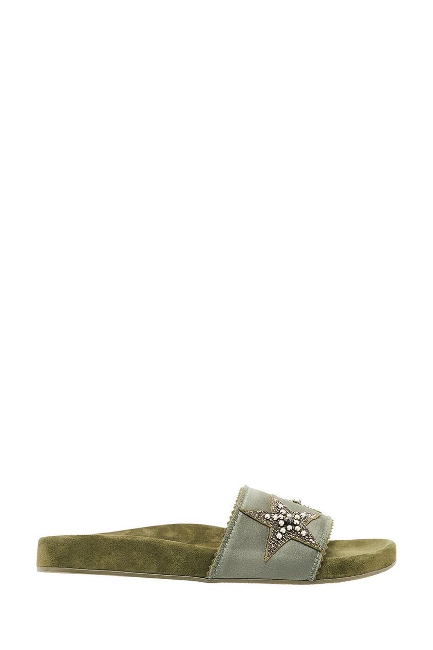 женские сандалии lola cruz, зеленые