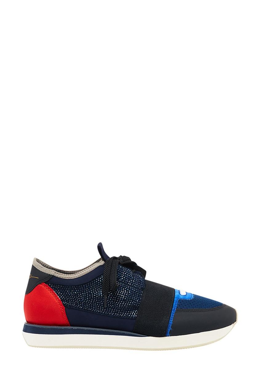 женские кроссовки lola cruz, синие