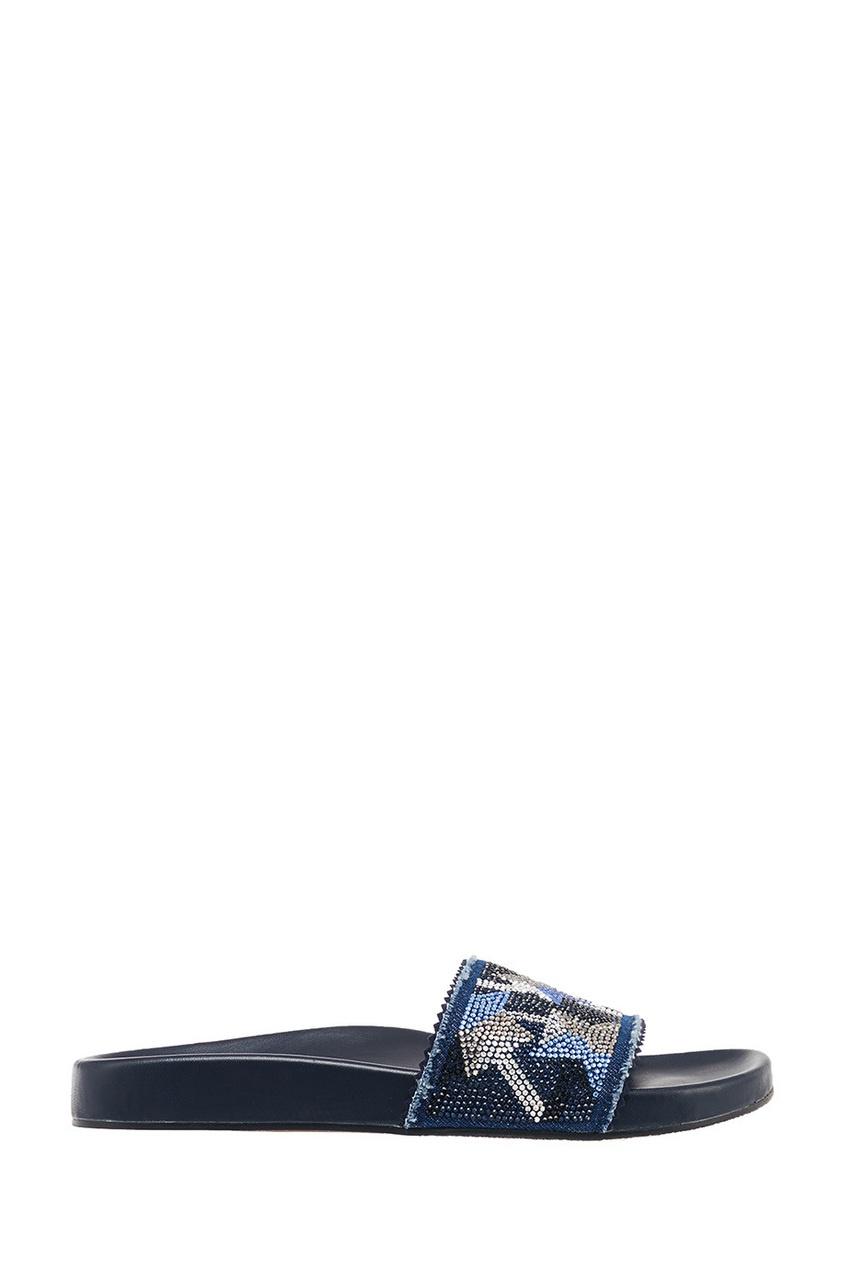 женские сандалии lola cruz, синие