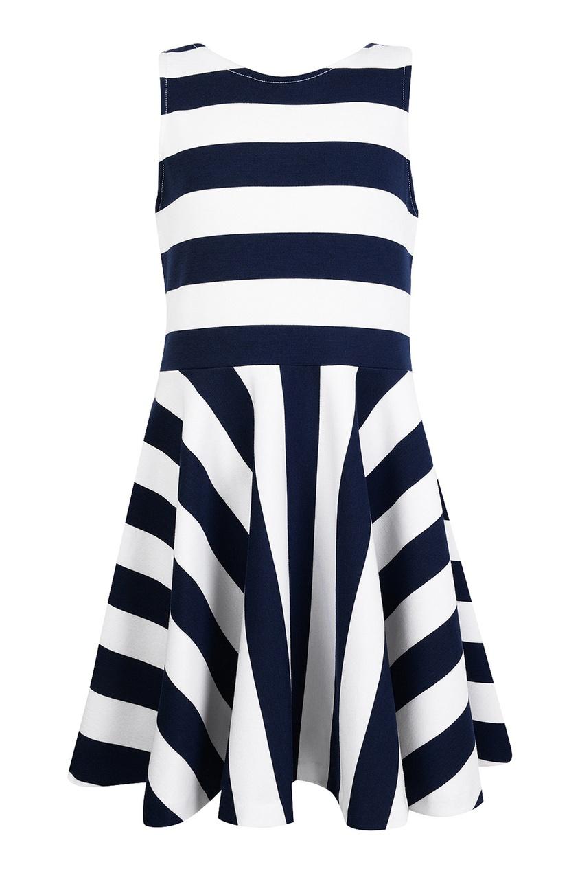 Трикотажное платье в полоску Ralph Lauren Children