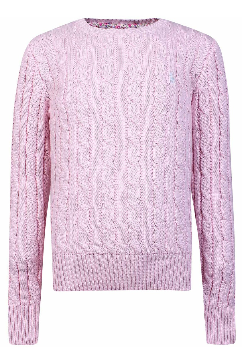 Розовый джемпер
