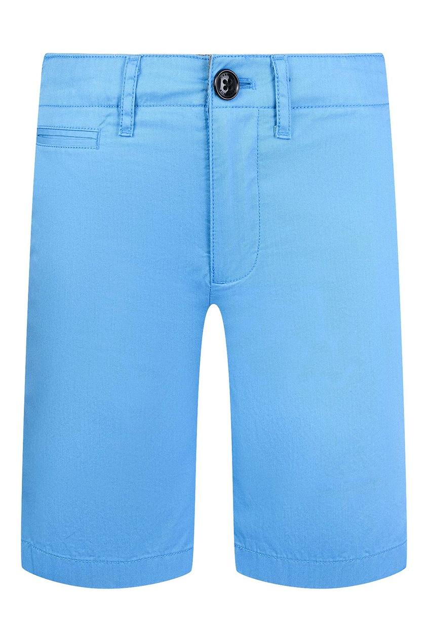 Burberry Children Голубые хлопковые шорты burberry children хлопковое худи