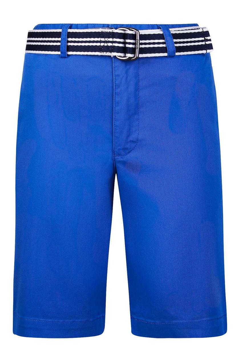 Ralph Lauren Children Шорты с контрастным ремнем dior children шорты