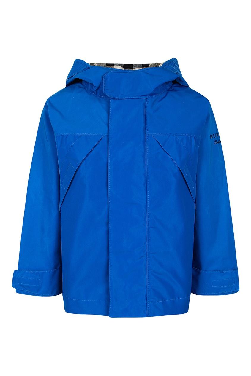 Синяя куртка от Burberry Kids