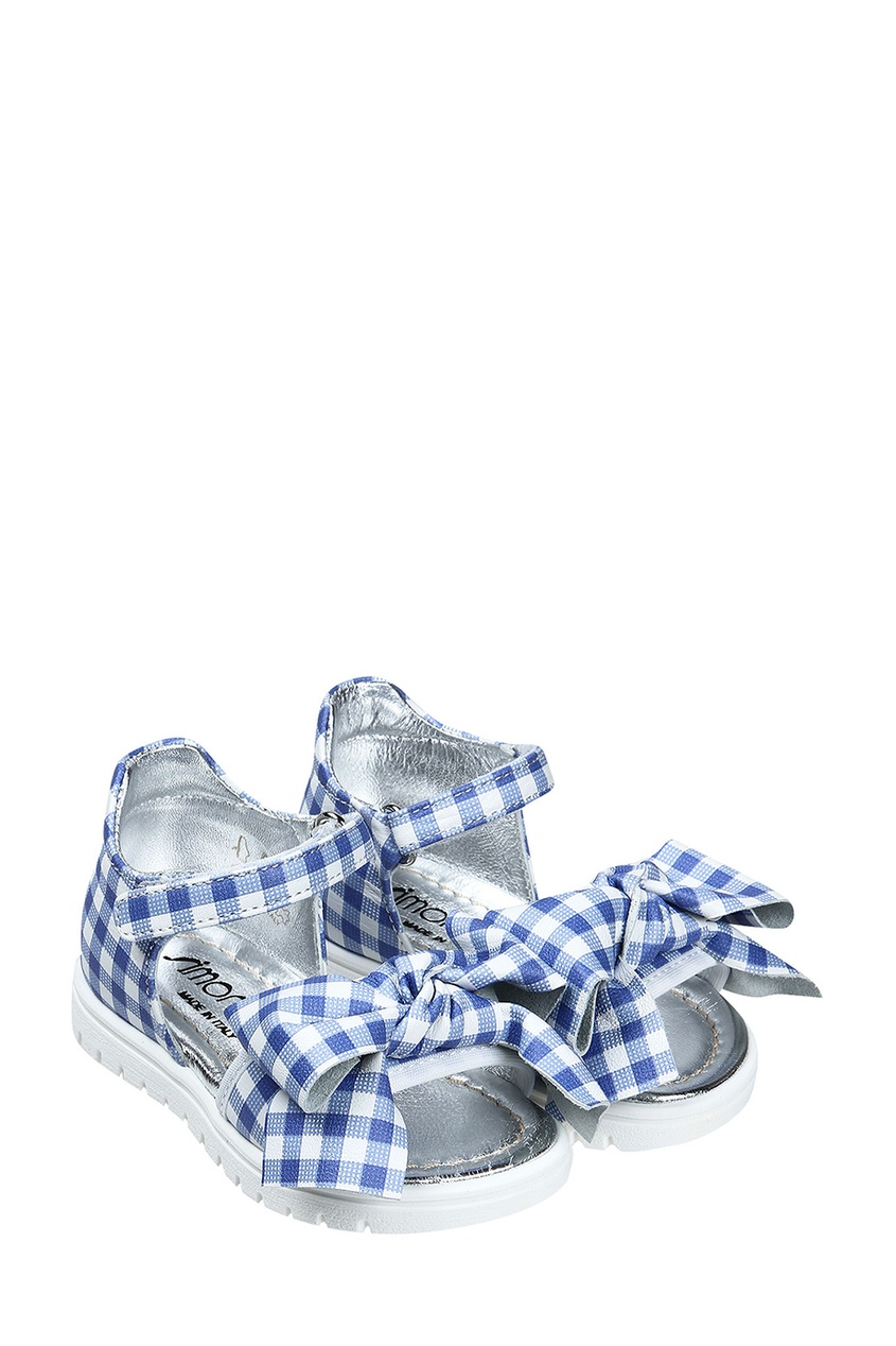 Simonetta Mini Сандалии в клетку сандалии velvet сандалии на обычной подошве