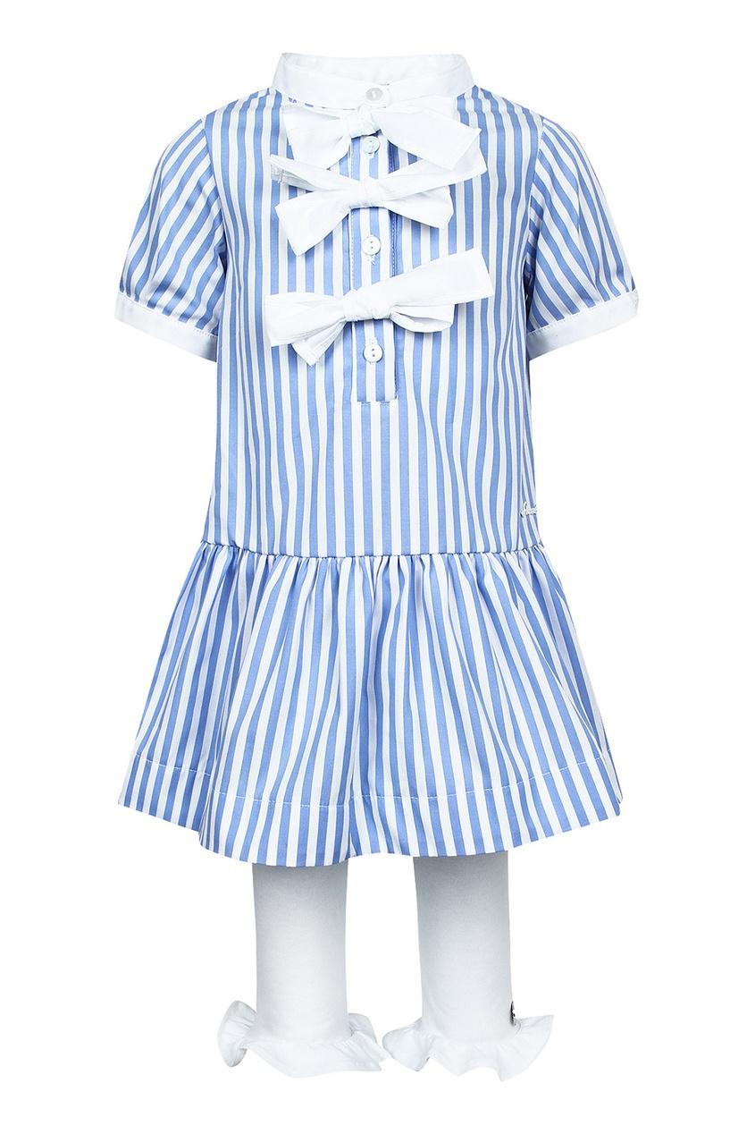 Simonetta Mini Детский комплект с платьем детский жилет mini pencil mini mb3420712 2015