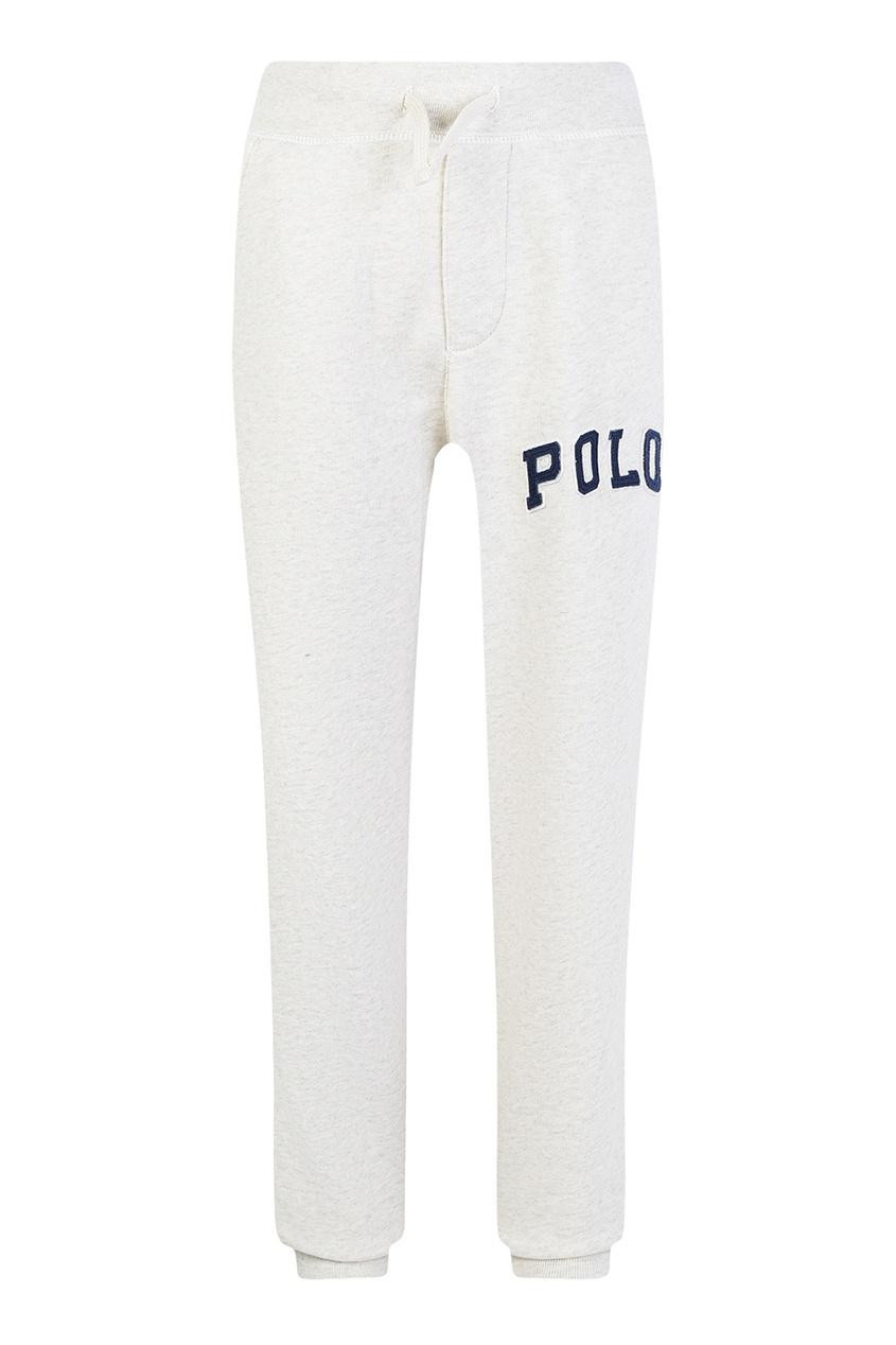 Ralph Lauren Children Трикотажные брюки с аппликацией брюки спортивные lauren ralph lauren lauren ralph lauren la079ewuio39