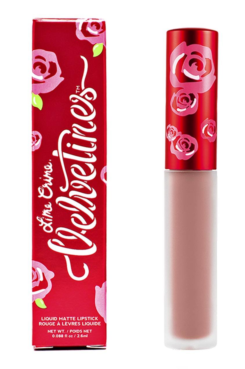 Lime Crime Матовая помада VELVETINES LULU 2,6 ml lime crime матовая помада velvetines wicked 2 6 ml
