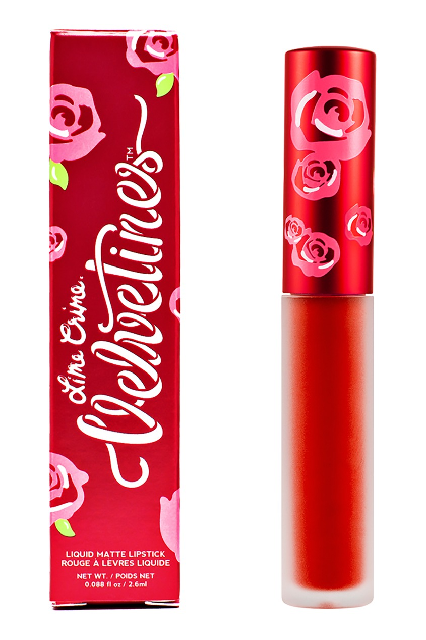 Lime Crime Матовая помада VELVETINES NEW AMERICANA 2,6 ml lime crime матовая помада velvetines wicked 2 6 ml