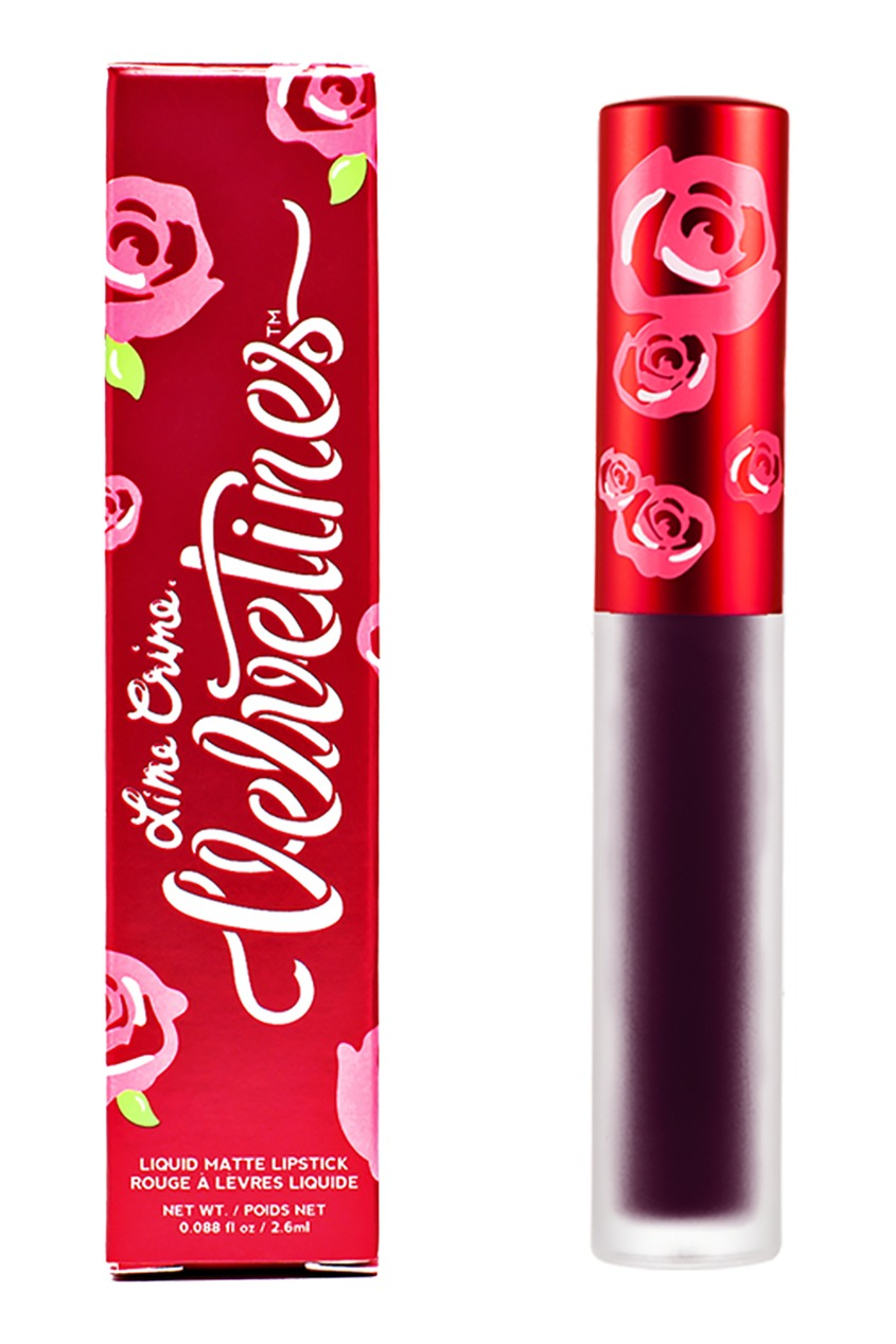 Lime Crime Матовая помада VELVETINES BLOODMOON 2,6 ml lime crime матовая помада velvetines wicked 2 6 ml