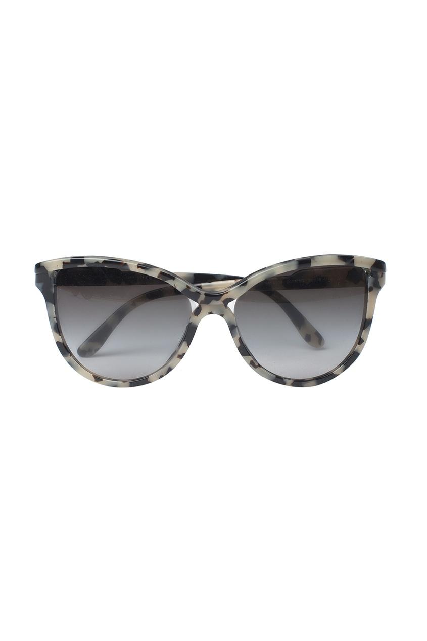 Солнцезащитные очки в пятнистой оправе