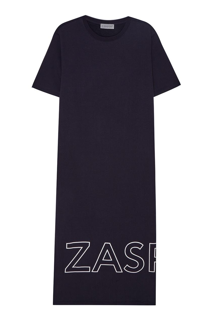 Длинное платье из хлопка