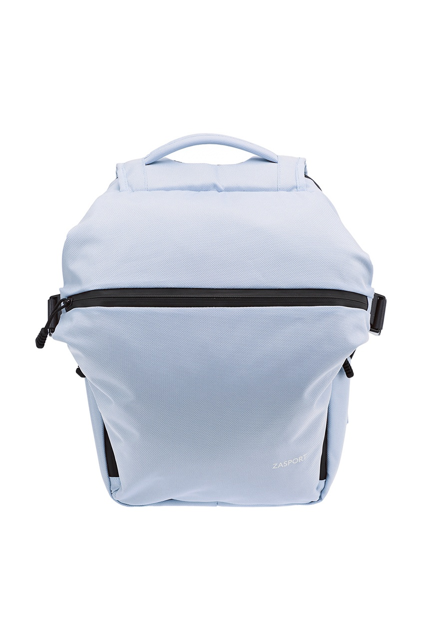 ZASPORT Голубой текстильный рюкзак жилет серо голубого цвета brums ут 00008821
