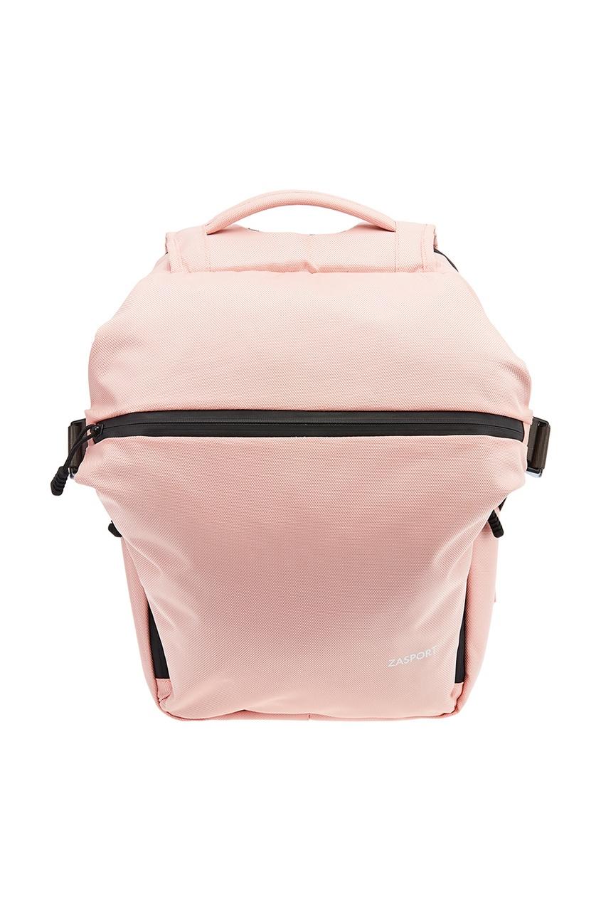Розовый текстильный рюкзак