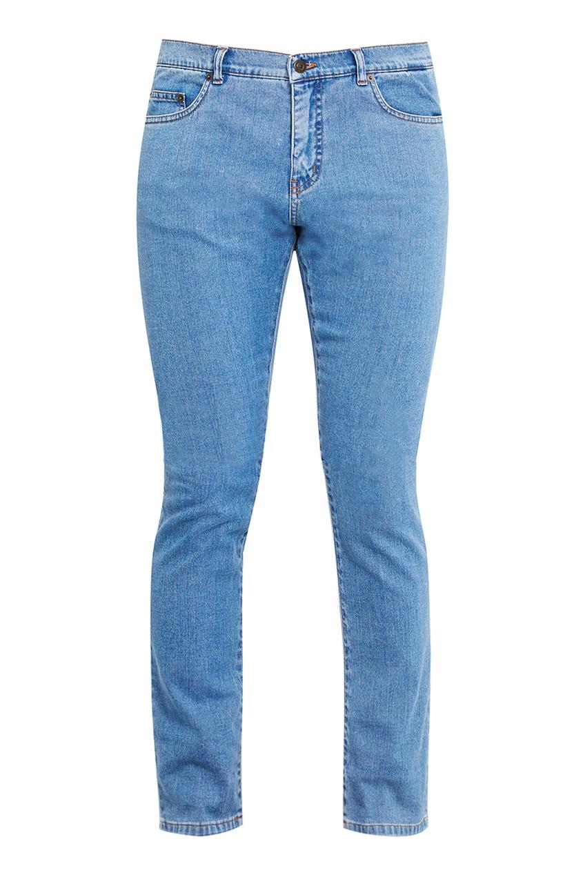 No.21 Прямые голубые джинсы