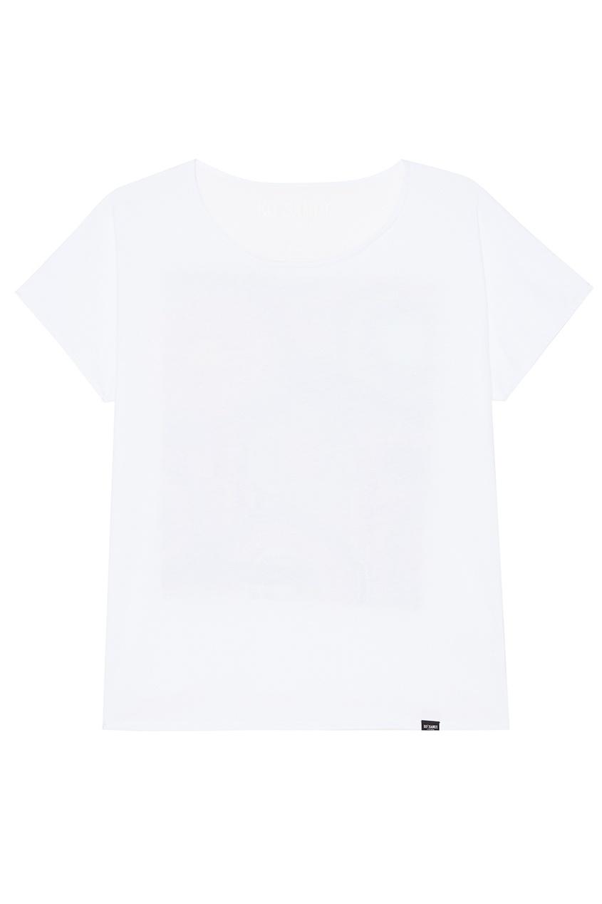 KO SAMUI Белая футболка с принтом на спине Kiwi ko samui белая футболка с фотопринтом shore