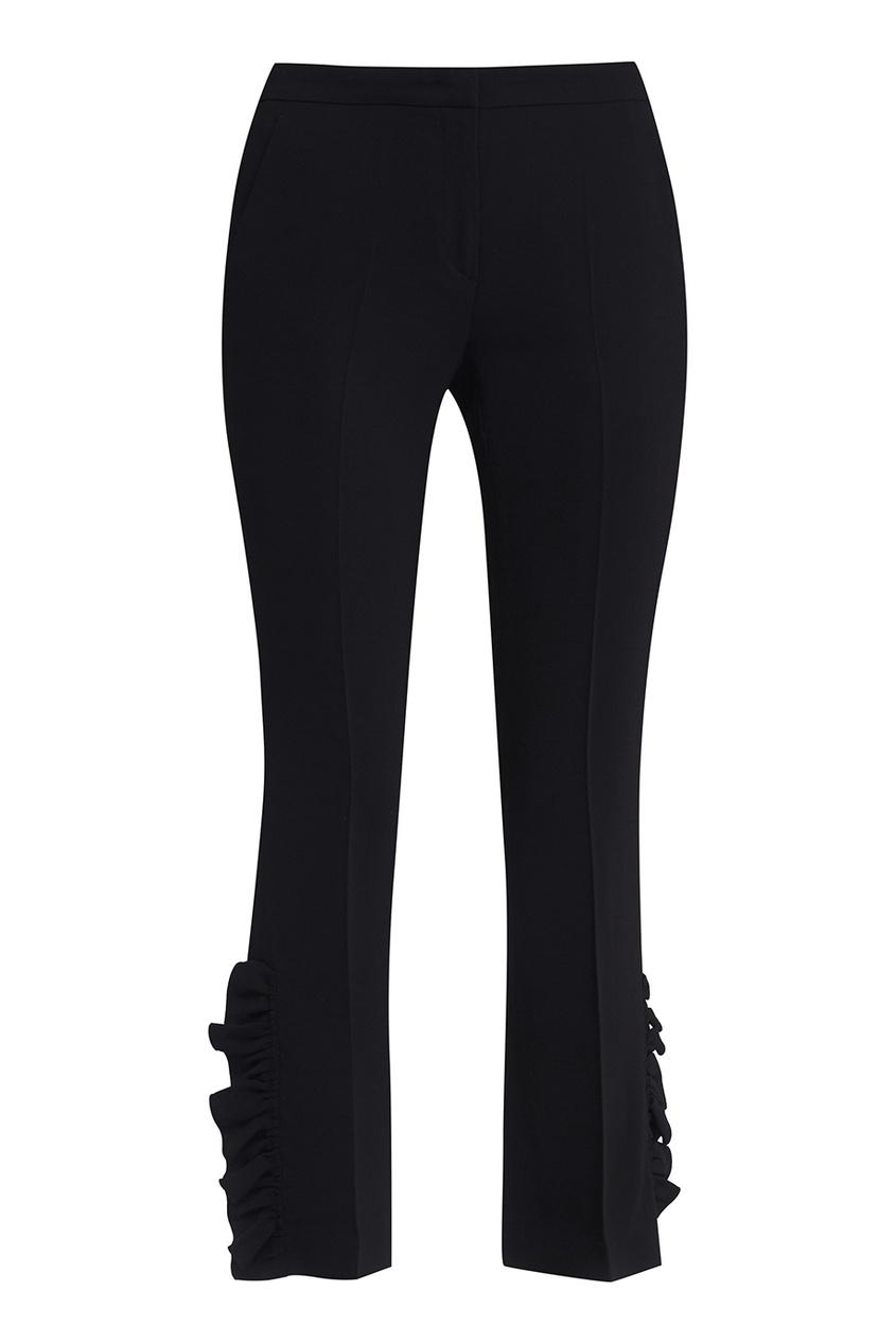 No.21 Черные брюки со оборками