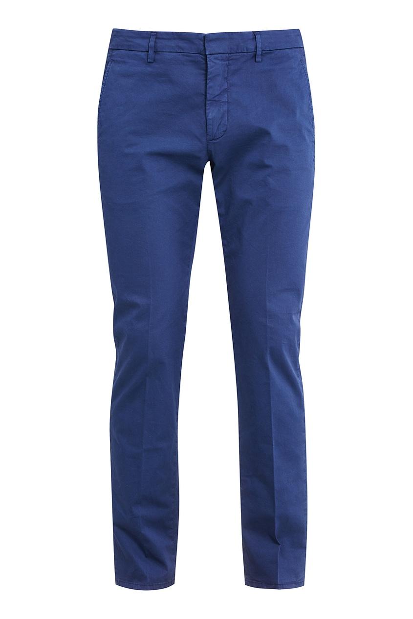 Dondup Синие хлопковые брюки etro синие хлопковые брюки